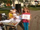 Праздник «Солнечные встречи с книгой» в сквере «Магнит»