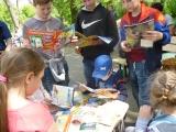 Игровая программа «Летние забавы»: в рамках проекта «Библиотека под открытым небом»